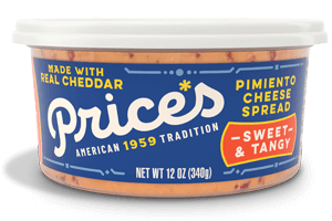 Price's Sweet & Tangy Pimiento Cheese Spread